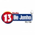 Logo da emissora Rádio 13 de Junho 99.7 FM