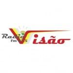 Logo da emissora Rádio Visão 87.5 FM