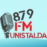 Logo da emissora Rádio Unistalda 87.9 FM