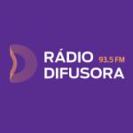 Logo da emissora Rádio Difusora 93.5 FM