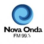 Logo da emissora Rádio Nova Onda 99.3 FM