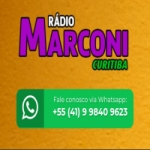 Logo da emissora Rádio Marconi CWB