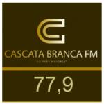 Logo da emissora Rádio Cascata Branca FM