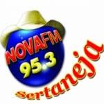 Logo da emissora Rádio Nova Sertaneja 95.3 FM