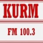 Logo da emissora Radio KURM 100.3 FM