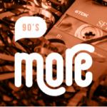Logo da emissora Radio More FM 90'S