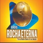 Logo da emissora Rádio Rocha Eterna