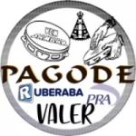 Logo da emissora Rádio Pagode Pra Valer Samba e Show