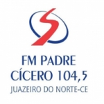 Logo da emissora Rádio Padre Cícero 104.5 FM