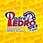 Logo da emissora Rádio Padre Pedro FM 104.9