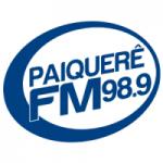 Logo da emissora Rádio Paiquerê 98.9 FM