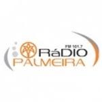 Logo da emissora Rádio Palmeira 101.7 FM
