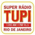 Logo da emissora Super Rádio Tupi FM 96.5 AM 1280