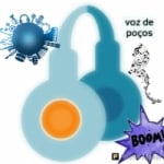 Logo da emissora Rádio Voz Poços