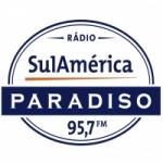 Logo da emissora Rádio Sulamérica Paradiso 95.7 FM