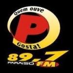 Logo da emissora Rádio Paraíso 89.7 FM