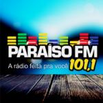 Logo da emissora Rádio Paraíso 101.1 FM