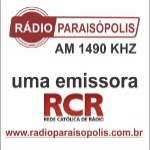 Logo da emissora Rádio Paraisópolis 1490 AM