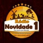 Logo da emissora Rádio Novidade 1