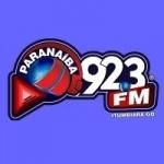 Logo da emissora Rádio Paranaíba 92.3 FM