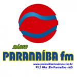 Logo da emissora Rádio Paranaíba 99.5 FM