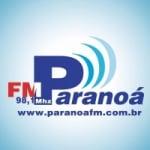 Logo da emissora Rádio Paranoá 98.1 FM