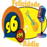 Logo da emissora Rádio Felicidade FM 96