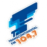 Logo da emissora Rádio Transcontinental 104.7 FM