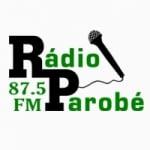 Logo da emissora Rádio Parobé 87.5 FM