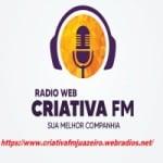 Logo da emissora Rádio Criativa FM