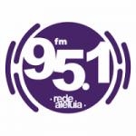 Logo da emissora Rádio Rede Aleluia 95.1 FM