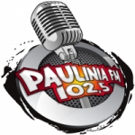 Logo da emissora Rádio Paulinia 102.5 FM