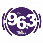 Logo da emissora Rádio Rede Aleluia 96.3 FM