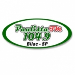 Logo da emissora Rádio Paulista 104.9 FM