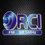Logo da emissora Rádio RCI 98.5 FM