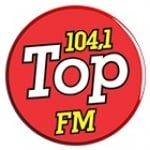 Logo da emissora Rádio Top 104.1 FM