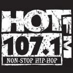Logo da emissora Radio KXHT 107.1 FM