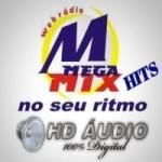Logo da emissora Rádio Megamix Hits