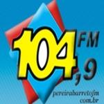 Logo da emissora Rádio Pereira Barreto 104.9 FM