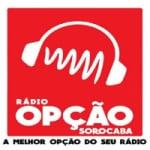 Logo da emissora Rádio Opção Sorocaba