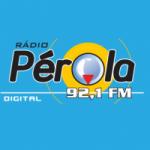 Logo da emissora Rádio Pérola 92.1 FM