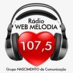 Logo da emissora Rádio Web Melodia FM Cuiabá