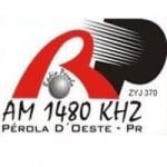 Logo da emissora Rádio Pérola 1480 AM