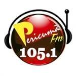 Logo da emissora Rádio Pericumã 105.1 FM