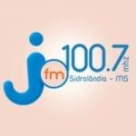 Logo da emissora Rádio Pindorama Jota FM 100.7
