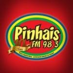 Logo da emissora Rádio Pinhais 98.3 FM