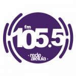 Logo da emissora Rádio Rede Aleluia 105.5 FM