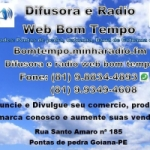 Logo da emissora Difusora Rádio Web Bom Tempo