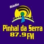 Logo da emissora Rádio Pinhal da Serra 87.9 FM