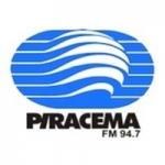 Logo da emissora Rádio Piracema 94.7 FM
